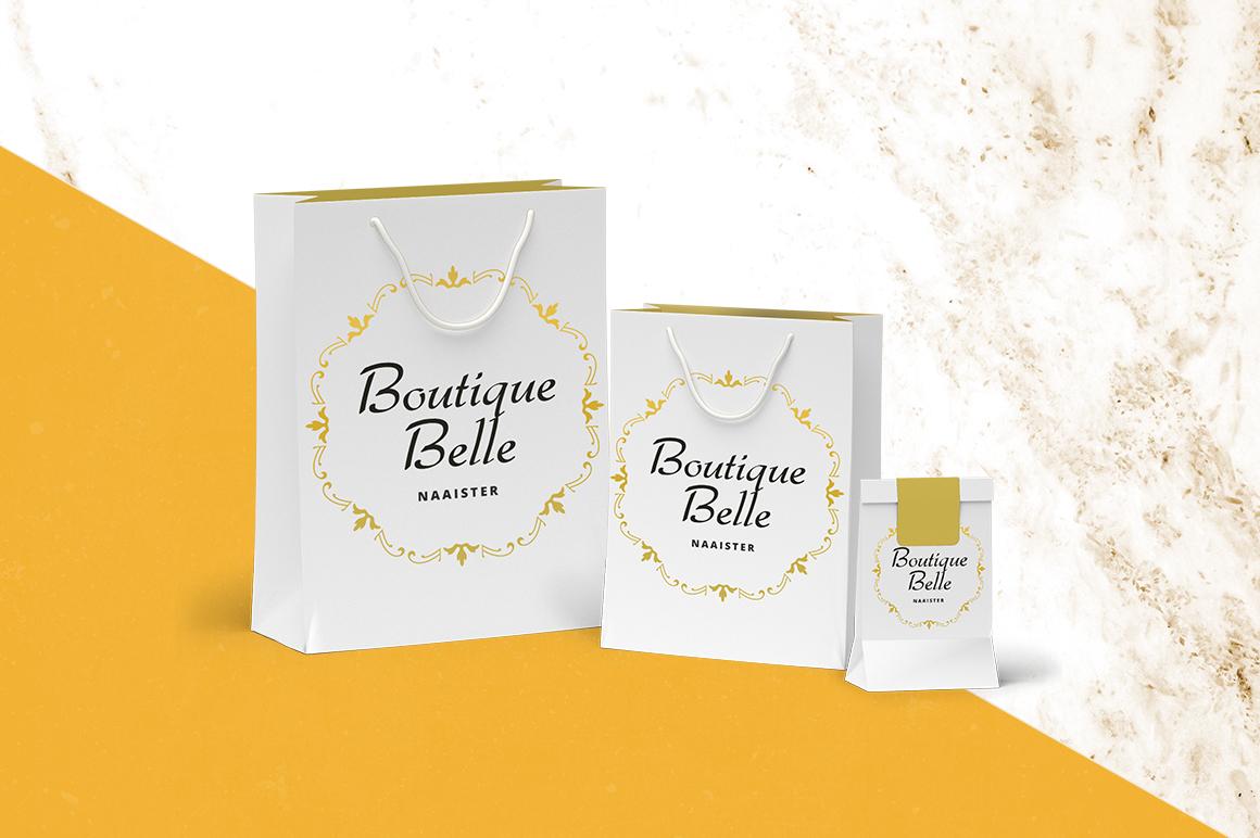 Boutique Belle zakjes en verpakking