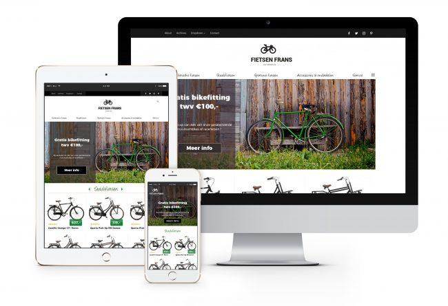 Webshop Fietsen Frans
